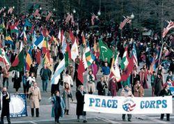 1993 Inaugural Parade RPCVs cropped